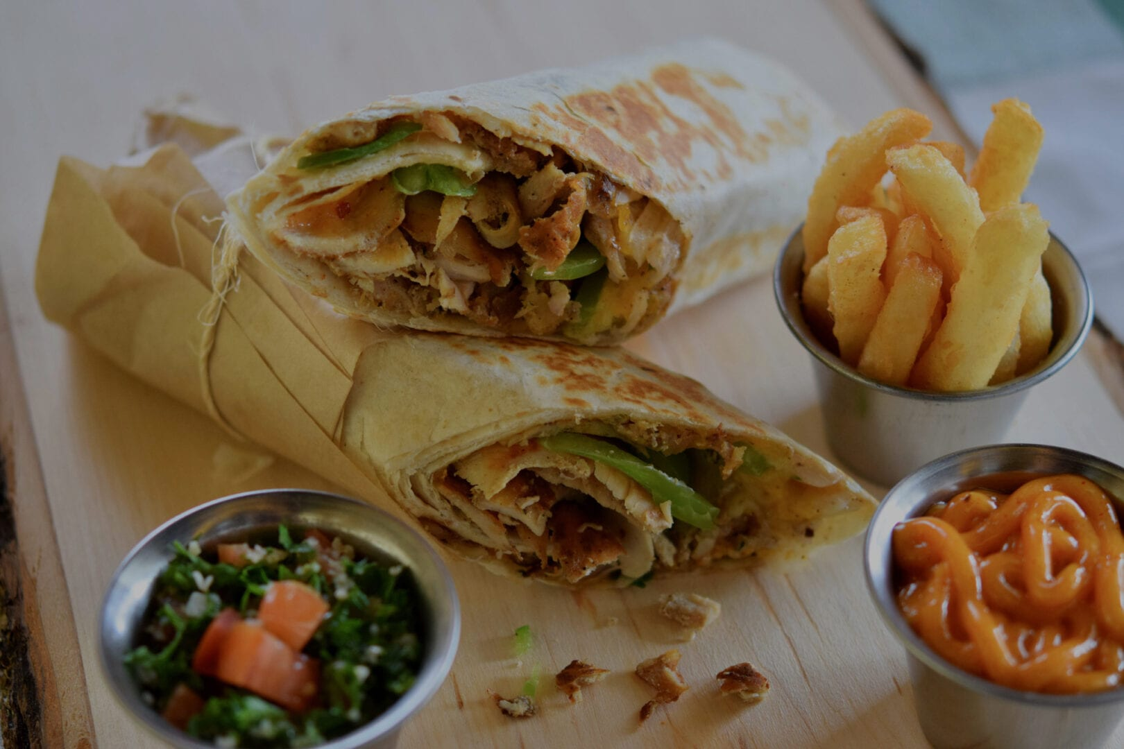 Shawarma Meal overlay